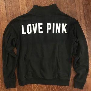 Pink Victoria Secret Quarter Zip